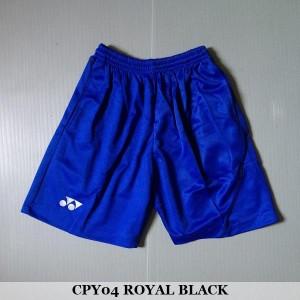 Celana Pendek Olahraga Badminton Bulutangkis Yonex CPY04 Royal Black