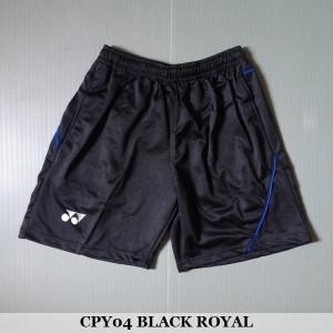 Celana Pendek Olahraga Badminton Bulutangkis Yonex CPY04 Black Royal