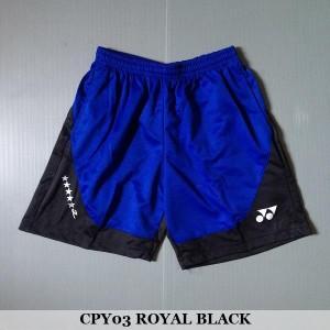 Celana Pendek Olahraga Badminton Bulutangkis Yonex CPY03 Royal Black