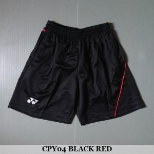 Celana Pendek Olahraga Badminton Bulutangkis Yonex CPY04 Black Red