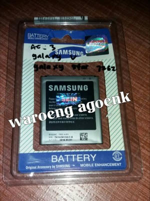 Baterai Samsung Galaxy V, Ace 3, Star 6272 *(Original 100%)