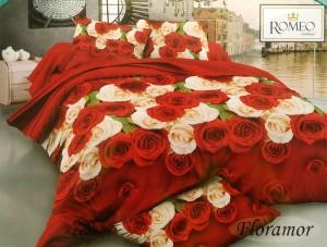 Sprei Romeo ukuran 120 x 200 / No.3 – Floramor