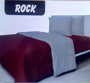 Bedcover Polos ukuran 180 x 200 – Rock