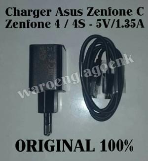 Charger Asus Zenfone C / Zenfone 4 / 4S -5V/1.35A Original 100%