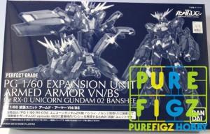 PG 1/60 Expansion Unit Armed Armor VN/BS Gundam (Part) Premium Bandai