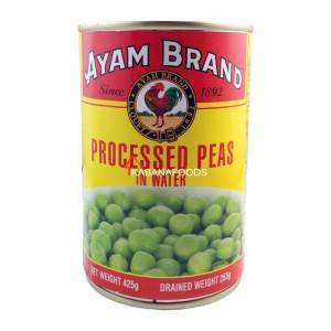 Kacang Hijau Kalengan Ayam Brand Processed Peas 425g