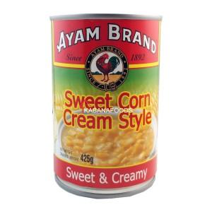Jagung Manis Krim Kalengan Ayam Brand Sweet Corn Cream Style 425g