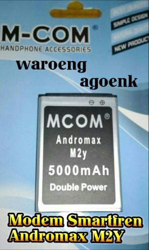 Baterai Modem Smartfren Andromax M2Y Double Power 5000mAh