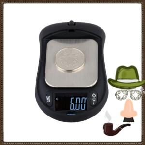 Timbangan Digital Super Keren Model Mouse 200Gram Akurasi 0.01