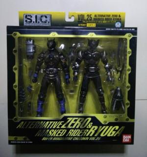 S.I.C. Vol. 25 Alternative Zero & Masked Rider Ryuga
