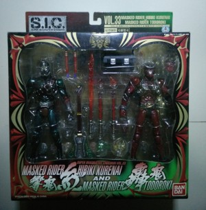 S.I.C. Vol. 33 Masked Rider Hibiki Kurenai & Masked Rider Todoroki