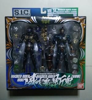 S.I.C. Vol. 34 Masked Rider Ibuki & Masked Rider Zannki