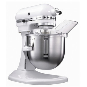 kitchenaid mixer white. kitchenaid stand mixer - heavy duty series 5kpm50 (white) kitchenaid white