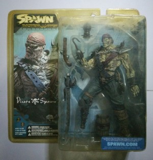Spawn Series 21 Pirate Spawn -Variant with Long Sword | TRI Card
