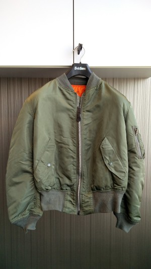 Jual Bomber Jacket - ALPHA INDUSTRIES MA-1 - MRZ | Tokopedia