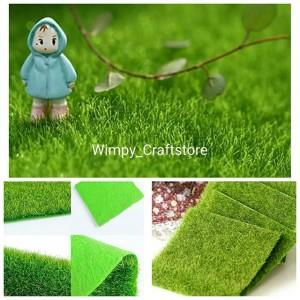 fake grass. Fake Grass Rumput Palsu Dekorasi Terrarium Miniature Garden T