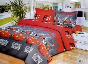 Bedcover Disperse Motif Cars – ukuran 180 x 200 / King / No.1