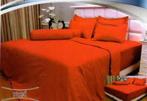 Bedcover Vallery 160 – Red
