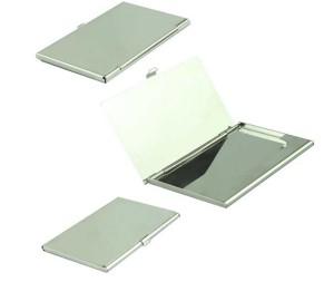 Card Holder Tempat Kartu Nama Stainless Model Cermin