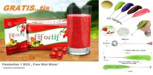 Fiforlif - Solusi Usus Sehat + Free Mixer Mini