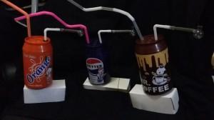 Koleksi Unik Bong Fullset Cangklong Kaca Pyrex Model Kaleng Minuman