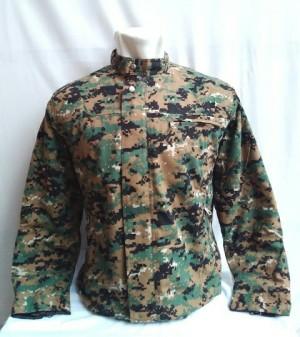 Jaket Army Pressbody Loreng Marpat