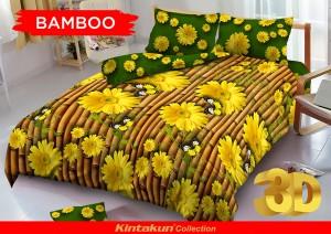 Bedcover D'luxe Kintakun ukuran 180 x 200 – Bamboo