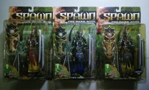 Spawn Series 14 Mandarin Spawn set of 3 pcs | US Card