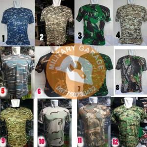 Kaos Loreng Pendek/ Kaos Army