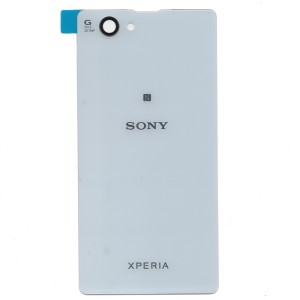 sony xperia z1 white. sony xperia z1 compact / mini d5503 back cover - belakang white white