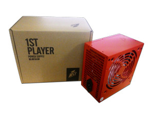 1STPLAYER Gaming PSU Fire Dancing PS-250FD Peak Power 400W