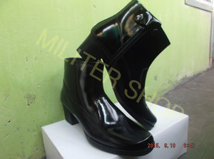 Sepatu PDL/Sepatu Kulit/Sepatu Kowad/Sepatu Polwan/Sepatu Wanita/KOWAL
