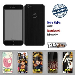 Garskin hp Apple Iphone 6 + branded murah motif kustom