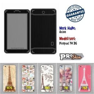 Garskin hp Axioo Picopad 7H 3G harga murah bisa pakai foto sendiri