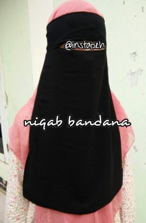 Cadar/Niqab/Niqob Bandana Tali