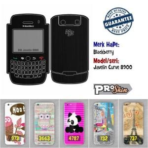 Garskin hp Blackberry Javelin Curve 8900 branded murah motif kustom
