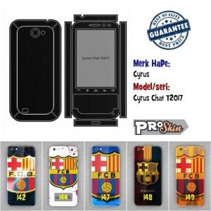Garskin hp Cyrus Cyrus Chat T2017 harga grosir bisa pakai foto sendiri