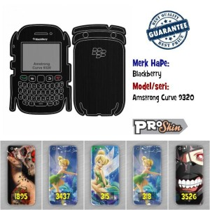 Garskin hp Blackberry Amstrong Curve 9320 harga murah bisa pakai foto
