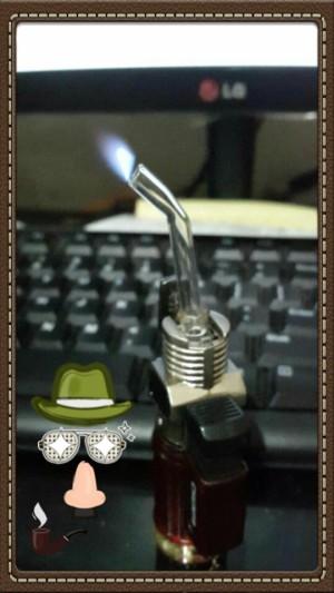 Korek Api Las Kompor FullSet PIpet Kaca Pyrex Bengkok