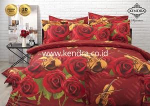 Sprei Kendra Signature 180 motif Violin Rose
