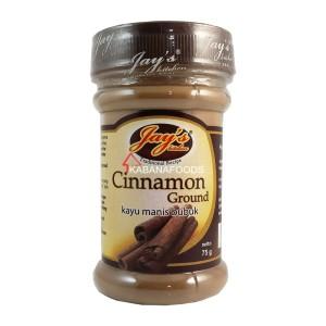 Bumbu Masak Kayu Manis Bubuk Jay's Cinnamon Ground 75g