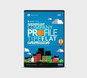 DVD Kursus Membuat Flat Animation Bahasa Indonesia