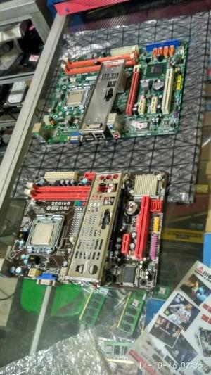 Biostar G41 + Core2Duo Padang