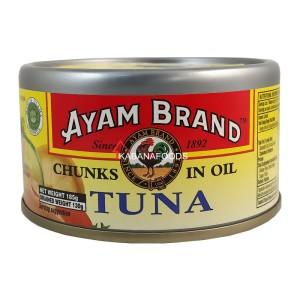 Tuna Minyak Kalengan Ayam Brand Tuna Chunks in Oil 185g