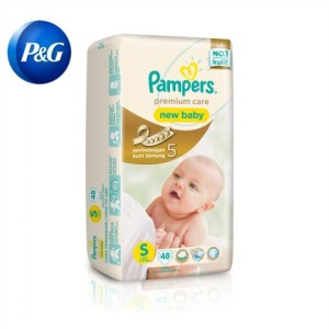 Pampers Popok Premium Care Taped S 48