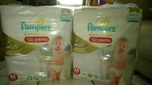 Pampers Premium Care Pants M