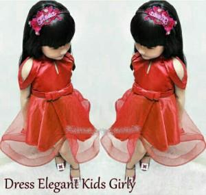 Dress elegant kid