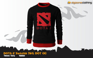 Sweater Game Dota 2 Special Casual Sweater (WG DOT 01)