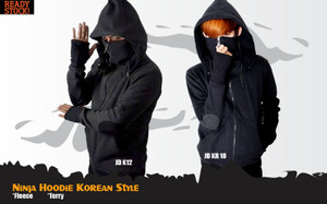 Jaket Anime Game Casual Ninja Korean Style Jacket Hoodie (JD KR 18)