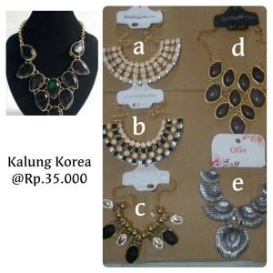 KALUNG KOREA / AKSESORIS WANITA / KALUNG FASHION